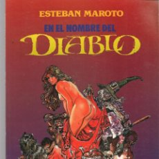 Cómics: EN EL NOMBRE DEL DIABLO. ESTEBAN MAROTO. TOUTAIN EDITOR. (RF.MA)C/5. Lote 133248742