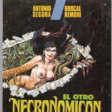 Cómics: EL OTRO NEGRONOMICON. ANTONIO SEGURA / BROCAL REMOHI. TOUTAIN EDITOR. (RF.MA)C/5. Lote 133249042