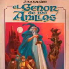 Cómics: J.R.R. TOLKIEN EL SEÑOR DE LOS ANILLOS. TOUTAIN VOL 1 LUIS BERMEJO. Lote 133991126