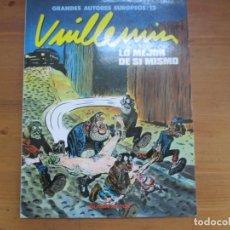 Cómics: LO MEJOR DE SÍ MISMO. VUILLEMIN. TOUTAIN EDITOR. Lote 134064530