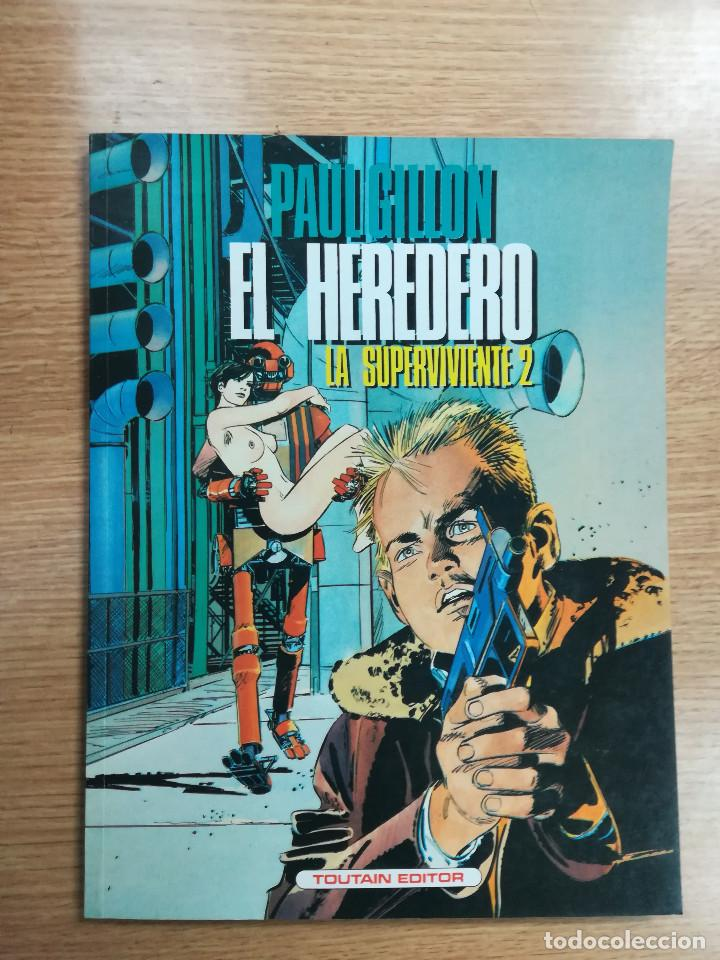 PAUL GILLON EL HEREDERO LA SUPERVIVIENTE #2 (Tebeos y Comics - Toutain - Otros)