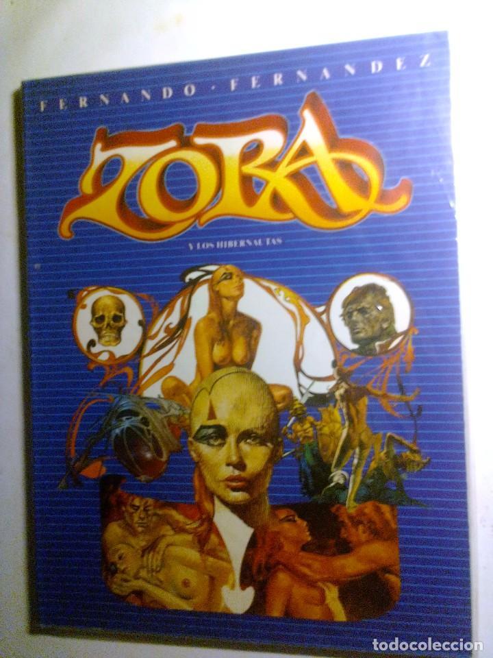 ZORA Y LOS HIBERNAUTAS (TOUTAIN – FERNANDO FERNANDEZ). (Tebeos y Comics - Toutain - Álbumes)