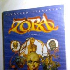 Cómics: ZORA Y LOS HIBERNAUTAS (TOUTAIN – FERNANDO FERNANDEZ).. Lote 134292566