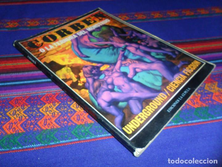Cómics: MUNDO MUTANTE 1ª ED 1982 TOUTAIN. REGALO CORBEN O LA TERNURA DEL MONSTRUO. LA CÚPULA 1979. BE. - Foto 2 - 134307710