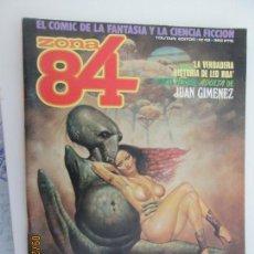 Cómics: ZONA 84 - EL COMIC DE LA FANTASIA Y LA CIENCIA FICCIÓN - Nº 43 . Lote 134429074