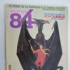 Cómics: ZONA 84 - EL COMIC DE LA FANTASIA Y LA CIENCIA FICCIÓN Nº 42. Lote 134429302