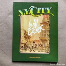 Comics: N.Y. CITY, THE BIG CITY. WILL EISNER. TOUTAIN EDITOR 1985. 119 PÁGINAS.. Lote 134980410