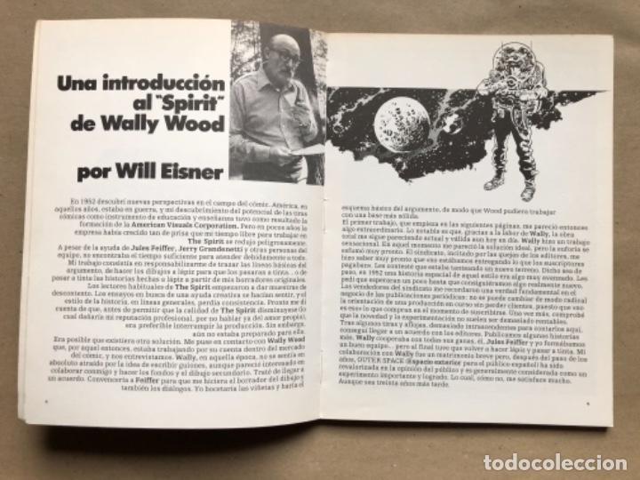 Cómics: THE SPIRIT DE WILL EISNER EN ESPACIO EXTERIOR, ILUSTRADO POR WALLY WOOD. TOUTAIN EDITOR 1981. 53 PÁG - Foto 4 - 134981306
