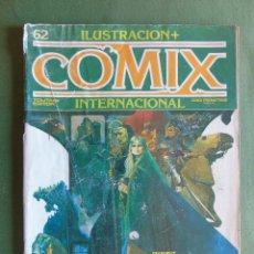 Cómics: ILUSTRACION + COMIX INTERNACIONAL. Nº 62. TOUTAIN EDITOR. 1986.. Lote 135001242