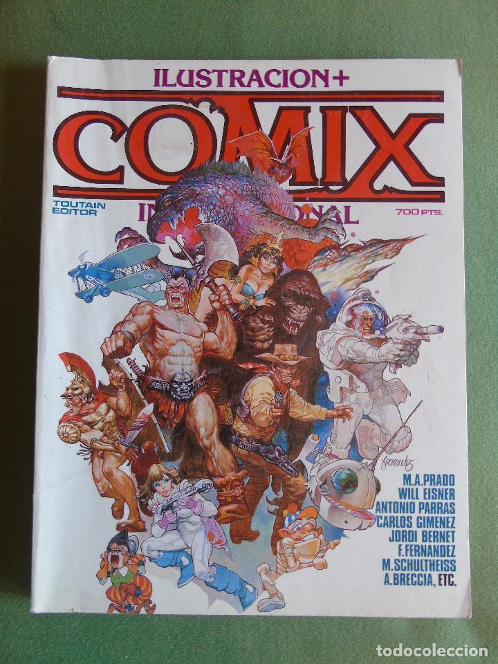 ILUSTRACION + COMIX INTERNACIONAL. EXTRA. TOUTAIN EDITOR. 1986. (Tebeos y Comics - Toutain - Comix Internacional)