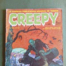 Cómics: CREEPY. Nº 2. 2ª EDICIÓN. TOUTAIN EDITOR. 1979. Lote 135006178