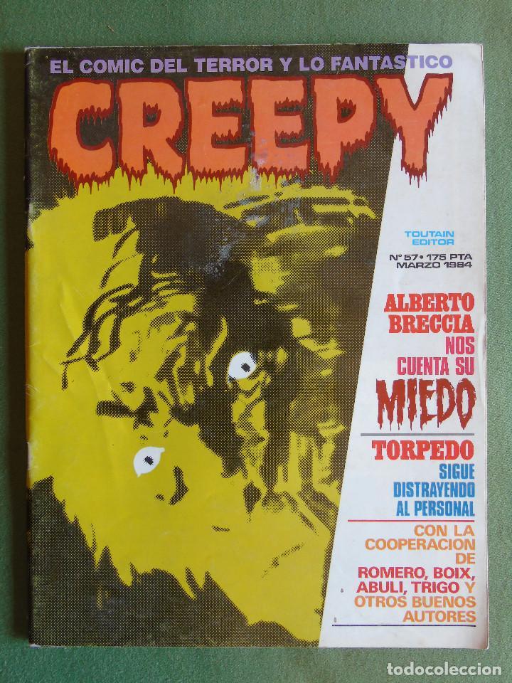 CREEPY. Nº 57. TOUTAIN EDITOR. MARZO 1984. (Tebeos y Comics - Toutain - Creepy)