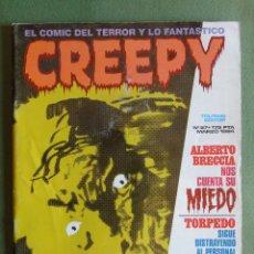 Cómics: CREEPY. Nº 57. TOUTAIN EDITOR. MARZO 1984.. Lote 135006722