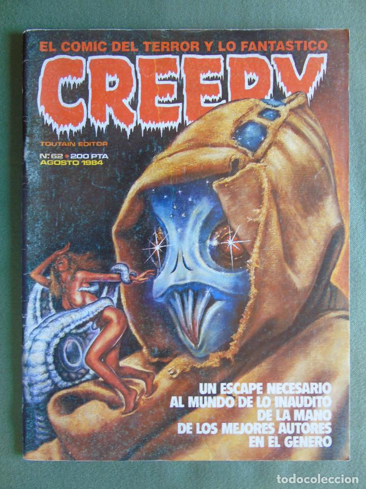 CREEPY. Nº 62. TOUTAIN EDITOR. AGOSTO 1984. (Tebeos y Comics - Toutain - Creepy)