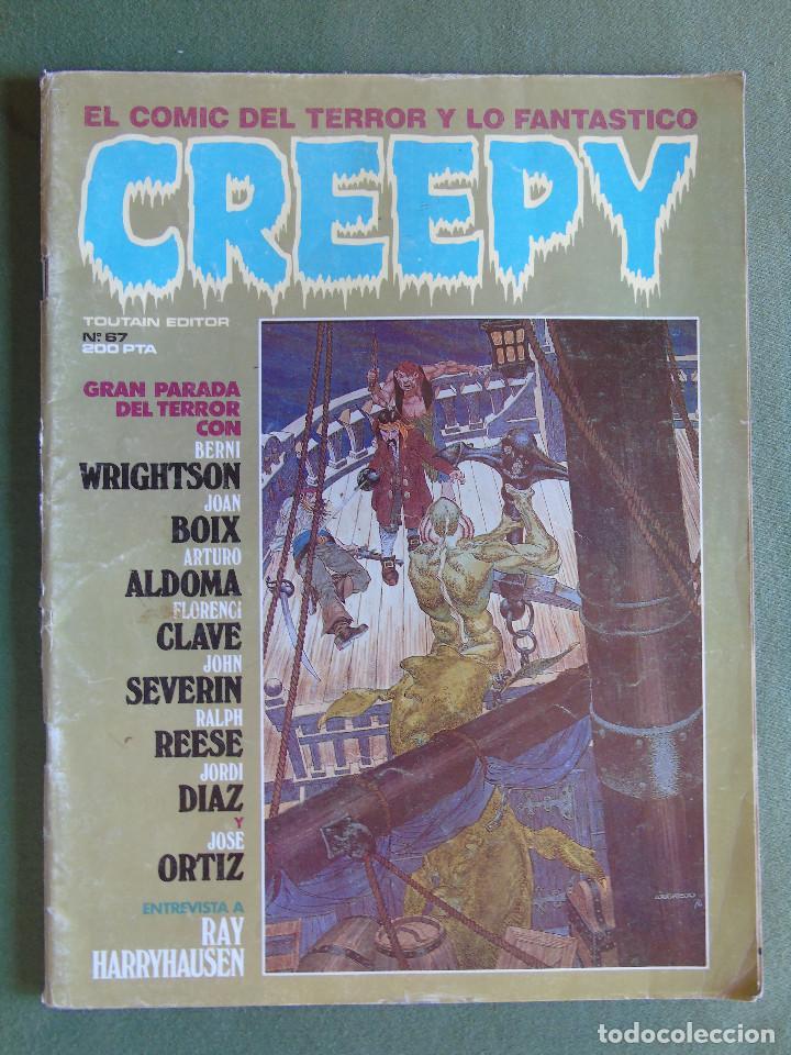 CREEPY. Nº 67. TOUTAIN EDITOR. (Tebeos y Comics - Toutain - Creepy)