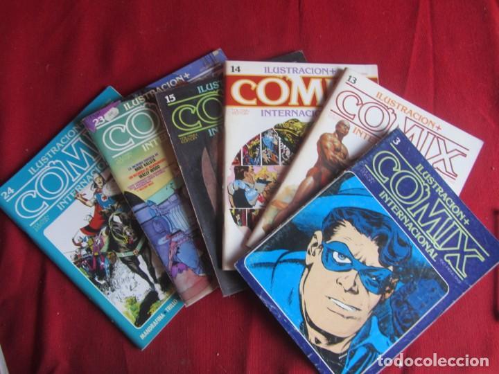 LOTE 6 COMICS ILUSTRACIÓN +COMIX INTERNACIONAL. TOUTAIN ED. VER NÚMEROS (Tebeos y Comics - Toutain - Comix Internacional)