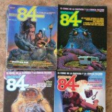Cómics: ZONA 84 TOUTAIN LOTE DE 25 REVISTAS 1 AL 17, 23 AL 25, 32, 36, 37, 38, 52. Lote 135548094