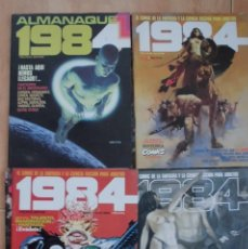 Cómics: 1984 REVISTA TOUTAIN LOTE 7 REVISTAS 47 AL 52 Y ALMANAQUE 1984. Lote 135549106