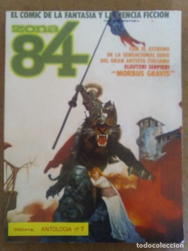 ZONA 84 ANTOLOGIA Nº 7 (RETAPADO CON LOS NUMEROS 20 A 22) TOUTAIN - BUEN ESTADO - OFM15 (Tebeos y Comics - Toutain - Zona 84)