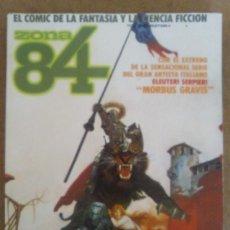 Cómics: ZONA 84 ANTOLOGIA Nº 7 (RETAPADO CON LOS NUMEROS 20 A 22) TOUTAIN - BUEN ESTADO - OFM15. Lote 135737319