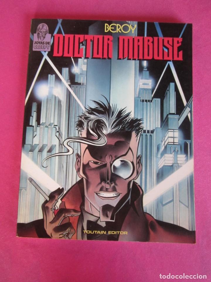 JOYAS DE CREEPY 3 - DOCTOR MABUSE - BEROY - TOUTAIN, AÑO 1987 - BUEN ESTADO (Tebeos y Comics - Toutain - Álbumes)