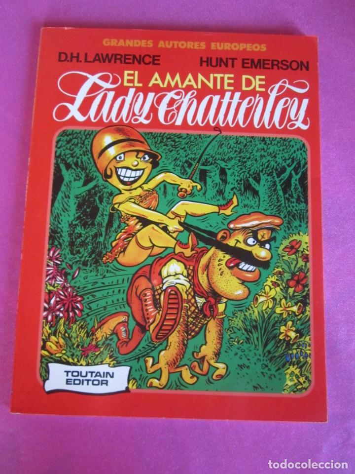 EL AMANTE DE LADY CHATTERLEY TOUTAIN (Tebeos y Comics - Toutain - Álbumes)