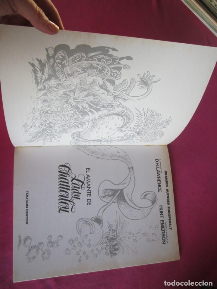 Cómics: EL AMANTE DE LADY CHATTERLEY TOUTAIN - Foto 3 - 135758246
