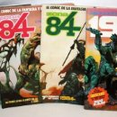 Cómics: 3 COMICS ZONA 84 Y COMIC 1984.TOUTAIN EDITOR.. Lote 136163742