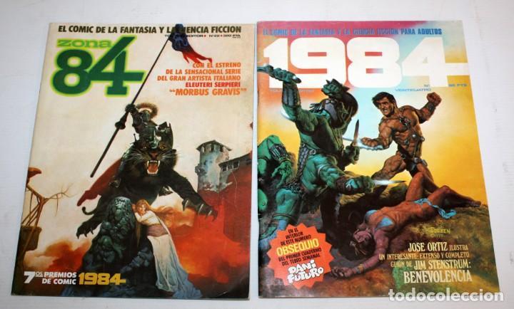 Cómics: 3 COMICS ZONA 84 Y COMIC 1984.TOUTAIN EDITOR. - Foto 3 - 136163742