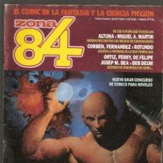 Cómics: ZONA 84 - Nº 62 - EL COMIC DE LA FANTASIA Y CIENCIA FICCION - TOUTAIN EDITOR -. Lote 136751438