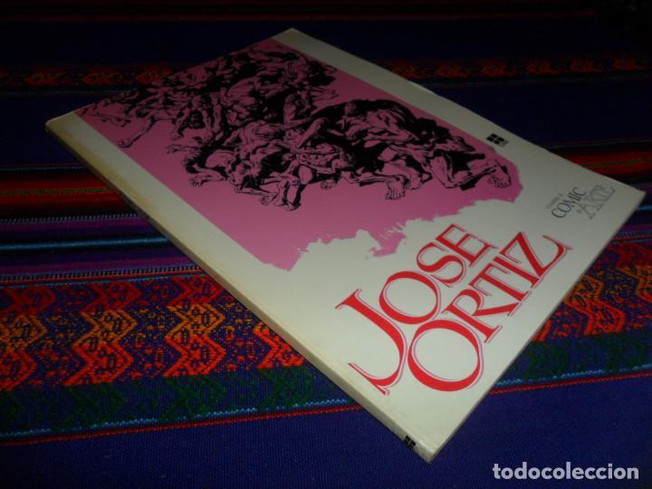 Cómics: 12 HISTORIAS DAX EL GUERRERO Y JOSÉ ORTIZ CUANDO EL CÓMIC ES ARTE REGALO LAS CRÓNICAS DEL SIN NOMBRE - Foto 2 - 137395226