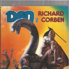 Cómics: DEN 2 MUVOVUM (RICHARD CORBEN) - TOUTAIN. Lote 137599786