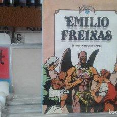 Fumetti: CUANDO EL COMIC ES NOSTALGIA. EMILIO FREIXAS. SALVADOR VÁZQUEZ DE PARGA.PRECINTADO. Lote 137710850