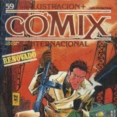 Cómics: COMIX INTERNACIONAL Nº 59. Lote 137771642