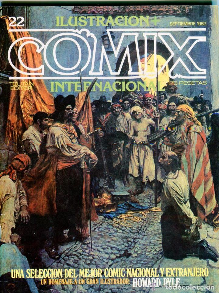 COMIX INTERNACIONAL Nº 22 (Tebeos y Comics - Toutain - Comix Internacional)