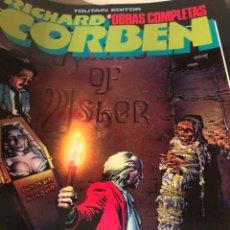 Cómics: LA CASA USHER RICHARD CORBEN. Lote 137934776
