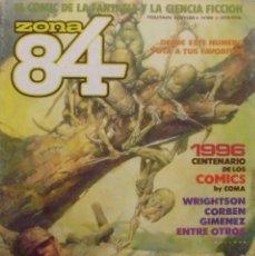 Cómics: COMIC, ZONA 84, NÚMERO 68, TOUTAIN EDITOR, 1984, BEB DEUM, BRUCE JONES. Lote 138296962
