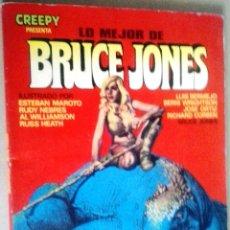 Cómics: LO MEJOR DE BRUCE JONES - CREEPY. Lote 138697910