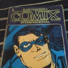 Cómics: ILUSTRACIÓN + COMIX INTERNACIONAL N. 3. Lote 138856478