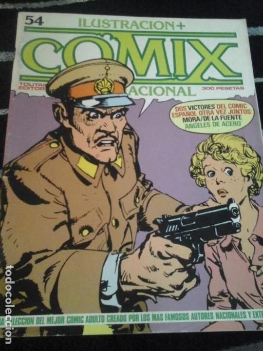 ILUSTRACIÓN + COMIX INTERNACIONAL N. 54 (Tebeos y Comics - Toutain - Comix Internacional)
