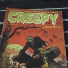 Cómics: CREEPY N. 2. Lote 138925222