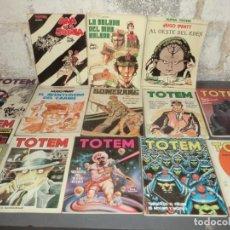 Cómics: LOTE DE TOTEM Y HUGO PRATT. Lote 139002886
