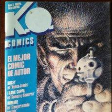 Cómics: K.O. Nº 1-3-4 SOMMER-SEGURA-TOTH-EISNER NUEVO TOUTAIN. Lote 139052858