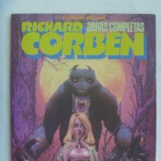 Cómics: OBRAS COMPLETAS DE RICHARD CORBEN , 2º : HOMBRE LOBO . DE TOUTAIN EDITOR, 1983. Lote 139251514