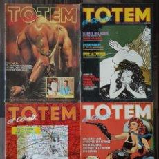 Cómics: TOTEM EL COMIX. LOTE DE 4 NUMEROS (3, 27, 60 Y 67). TOUTAIN EDITOR 1986. Lote 139613106