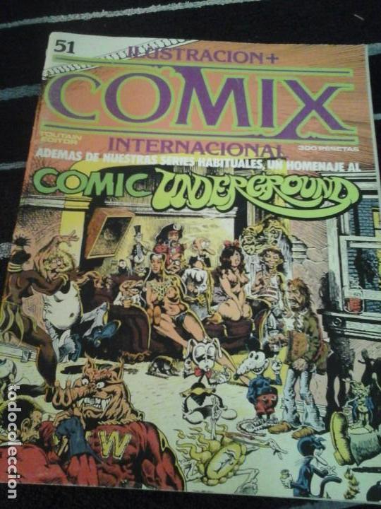 ILUSTRACIÓN + COMIX INTERNACIONAL N. 51 (Tebeos y Comics - Toutain - Comix Internacional)
