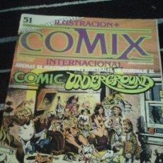 Cómics: ILUSTRACIÓN + COMIX INTERNACIONAL N. 51. Lote 227692175