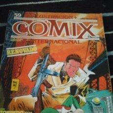 Cómics: ILUSTRACIÓN + COMIX INTERNACIONAL N. 59. Lote 139890426