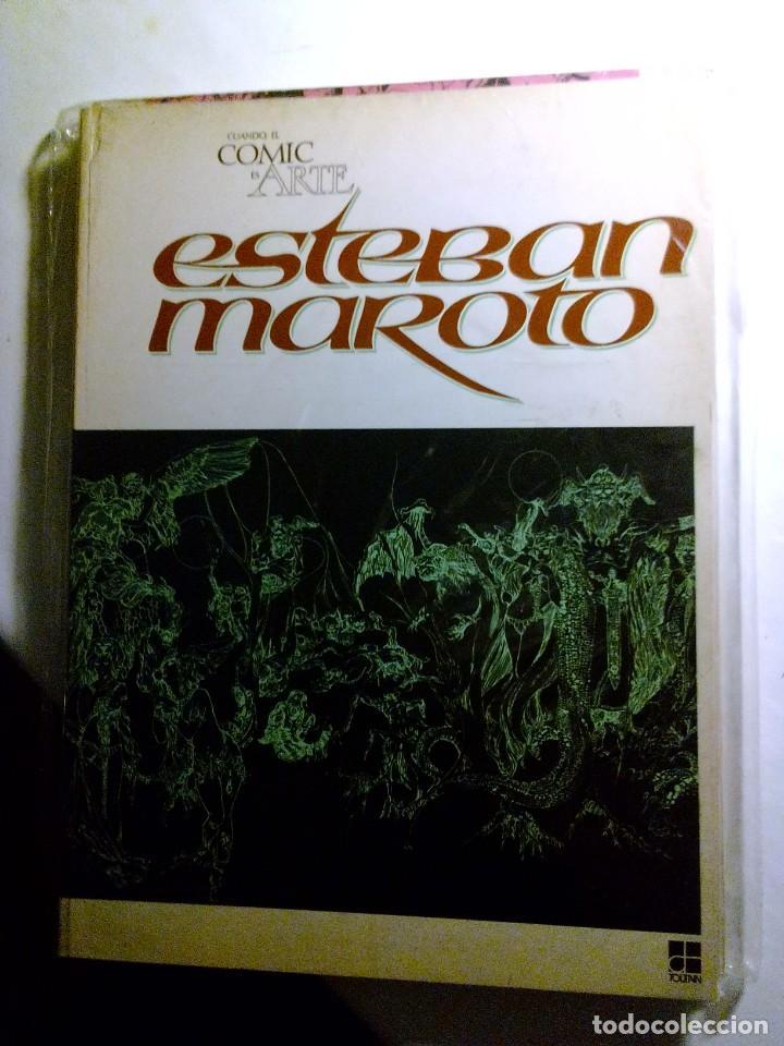 CUANDO EL COMIC ES ARTE - ESTEBAN MAROTO - TOUTAIN (Tebeos y Comics - Toutain - Álbumes)
