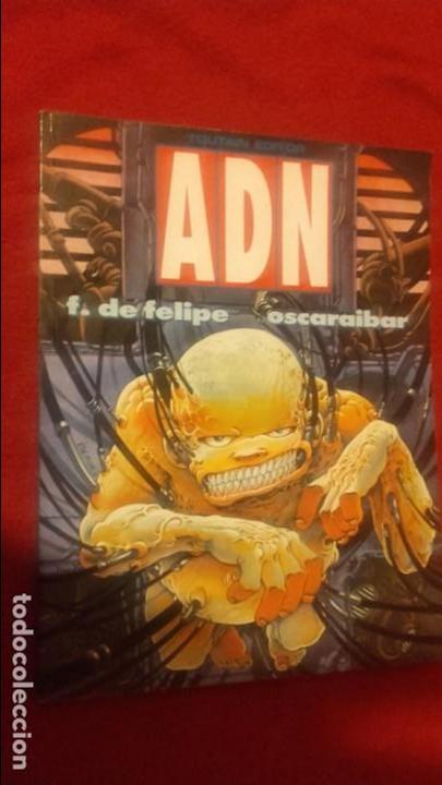 ADN - F. DE FELIPE & OSCARAIBAR - RUSTICA (Tebeos y Comics - Toutain - Álbumes)